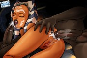 Ahsoka Tano ass fucking