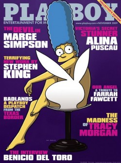Marge like PLAYBOY model