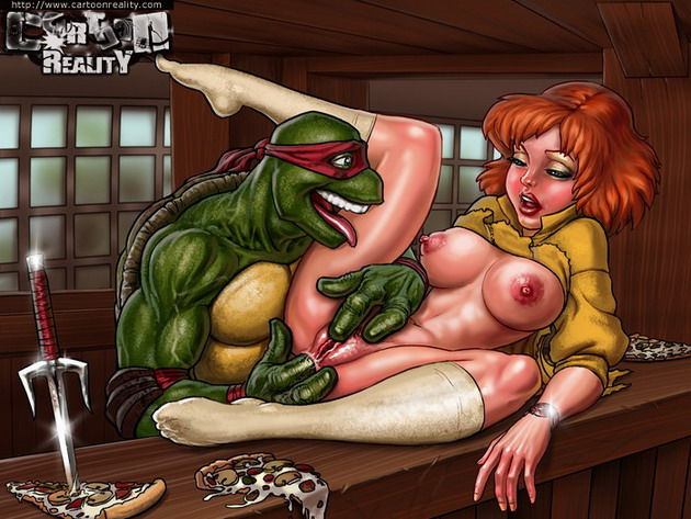 Mutant Ninja Turtles - sex comics