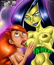 Kim and Shego lesbian sex