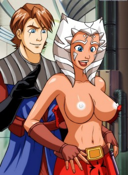 Ahsoka Tano - Star Wars sex cartoon