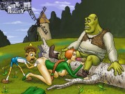 Shrek's sluts from fucking comics * All Sex Cartoons Hentai Porn Comics