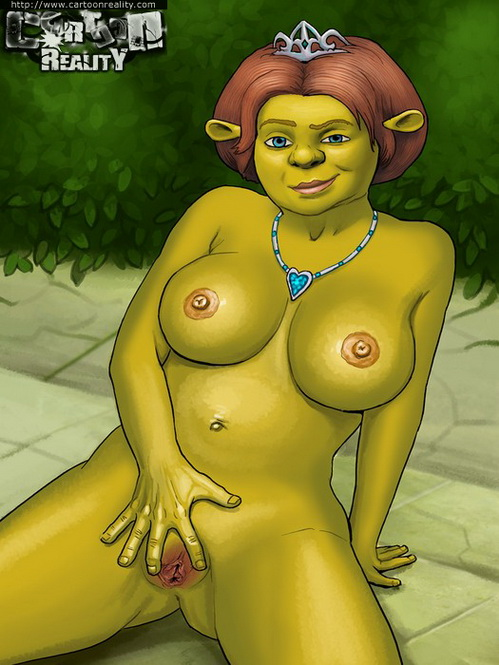 Shrek porn comics little
