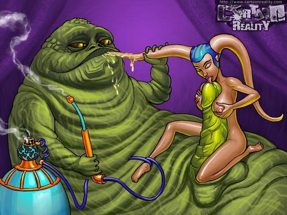 Dirty Star Wars Monster