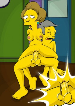 the Simpson nude comics gallery