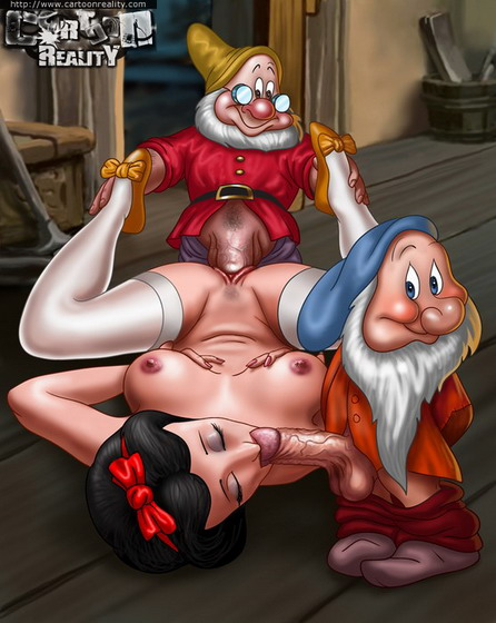Snow White dirty sex - comics hardcore