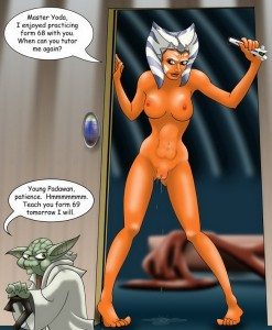 Ahsoka Tano nude gallery