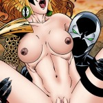 Sexy Storm with sex toy - Porn Comics Superheroes Sex X-Men