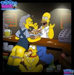 Hottest sex cartoon. The Simpsons XXX