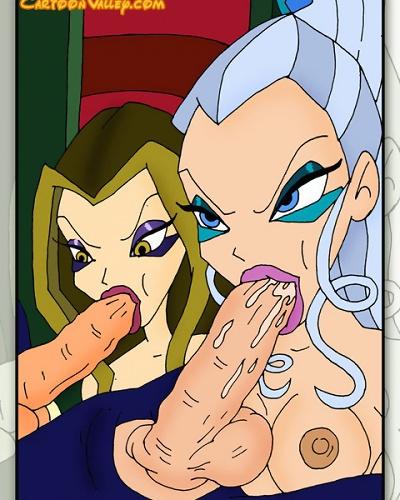 cartoon porn witch comics sexy