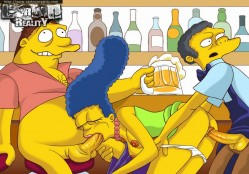 Cartoon Reality free pics - Marge Simpson Simpsons Sex
