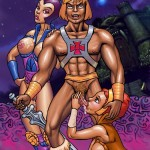 He-Man fucks babes - He-Man Cartoon Porn