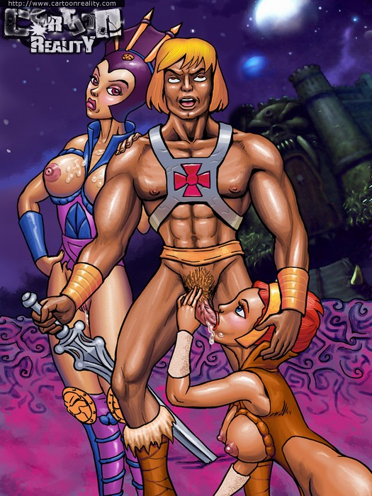 He-man cartoon porn