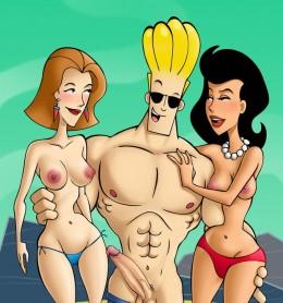 Johnny Bravo in porn comics