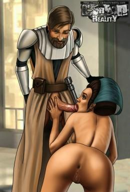 Sexy princess from StarWars - Star Wars Porn