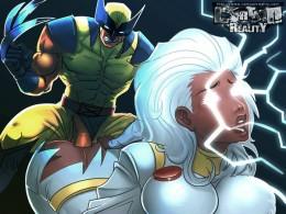 X-Men porn cartoon
