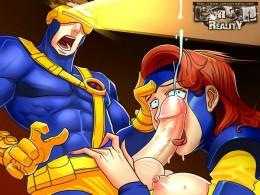 X-Men porn cartoon - Porn Comics X-Men