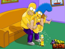 BDSM Cartoon Porno of Simpsons * BDSM Cartoon Porn