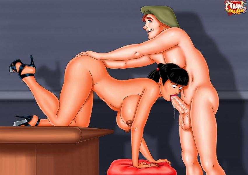 Tram-Pararam porn party