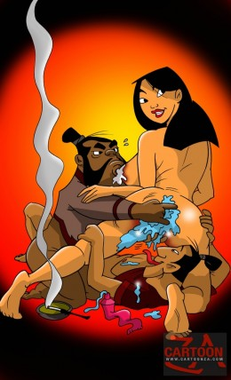 Colorful porn hentai of Mulan * Disney Cartoon Porn Mulan