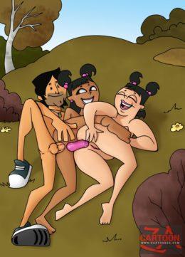 Hot cartoonza fanclub - Total Drama Island XXX