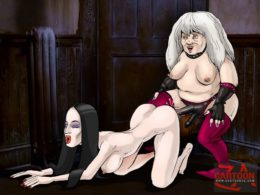 Addams Family XXX - All Sex Cartoons
