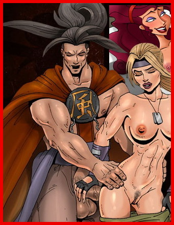 Justice League of sex - Porn Comics Superheroes Sex