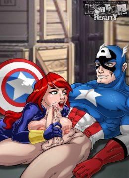 Nude Avengers - Porn Comics Superheroes Sex